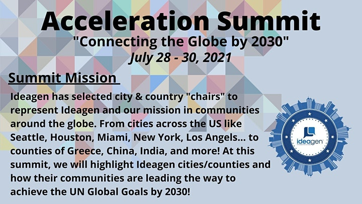 Ideagen's Acceleration Summit Series - Connecting the Globe by 2030 image
