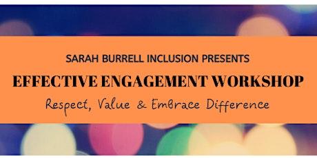 Effective Engagement Workshop tickets
