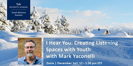 I Hear You: Creating Listening Spaces with Youth tickets