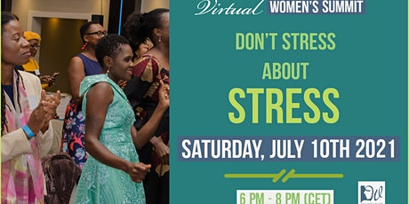 DON'T STRESS ABOUT STRESS (stress management for strong / successful women. tickets