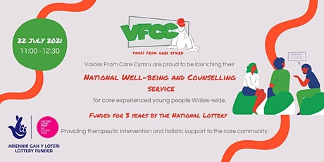 National Wellbeing and Counselling Service Launch tickets