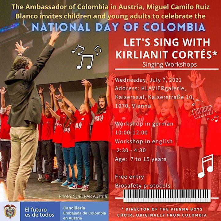 """Imagen de Choral initiation workshop  """"Let's sing with Kirlianit Córtes""""."""