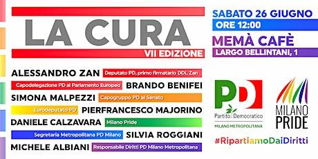 La Cura - VII edizione biglietti