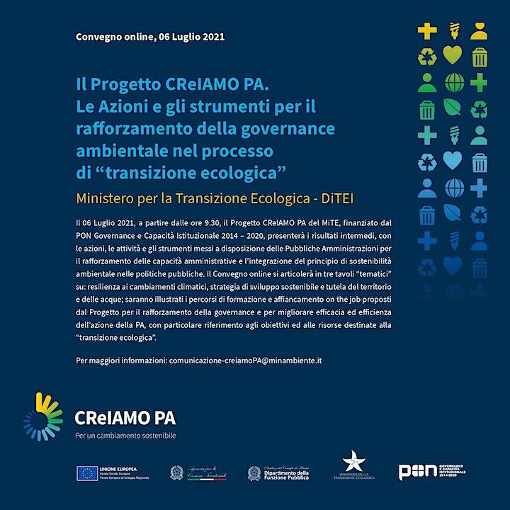 Immagine CReIAMO PA: gli strumenti e le azioni per la transizione ecologica
