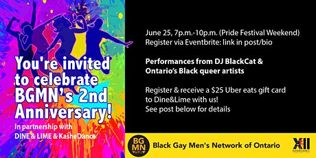 Dine&Lime! BGMN's Second Anniversary tickets