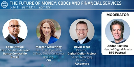 The Future of Money: CBDCs and Financial Services tickets
