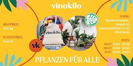 Vinokilo X Plantes Pour Tous • Berlin Tickets