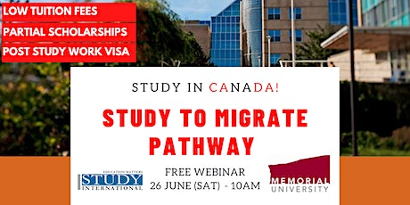 Study to Immigrate Pathway with Memorial University! tickets