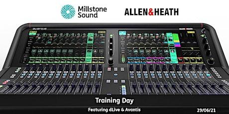 Allen & Heath Console Training Day tickets