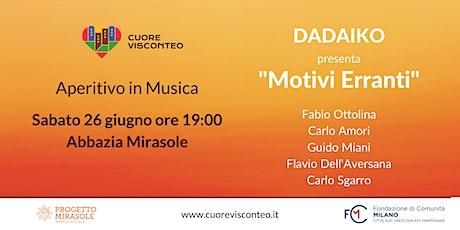 """Musica in Abbazia: Dadaiko presenta """"Motivi Erranti"""" biglietti"""