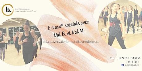 b. class ®  virtuelle avec Valerie M. les  lundis à 18h billets
