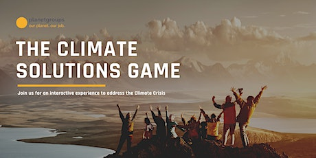 The Climate Solutions Game for Employees & Managers: Our planet. Our job! tickets