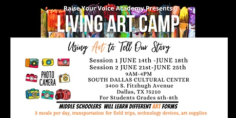 Copy of Living Art Camp tickets