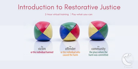 Introduction to Restorative Justice tickets