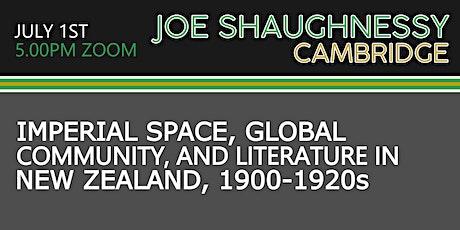 Cambridge Poco Graduate Seminar - Imperial Space & New Zealand Literature tickets