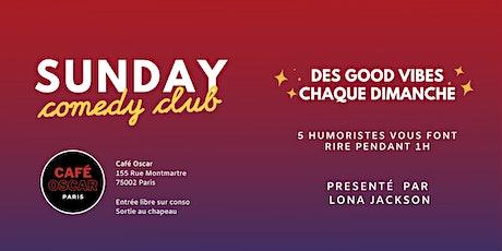 Sunday Comedy Club du Café Oscar tickets