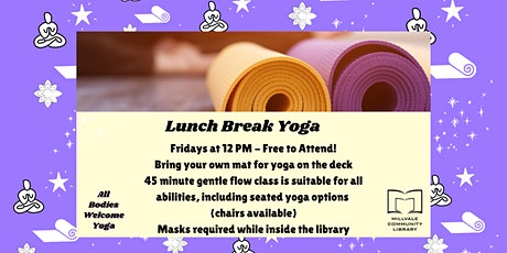 Lunch Break Yoga at MCL tickets
