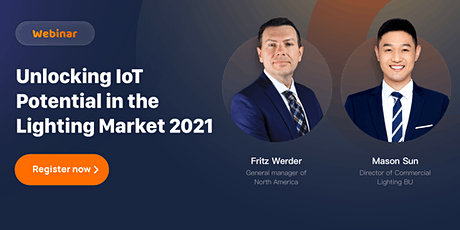 Unlocking IoT Potential in the Lighting Market 2021-2023 | APAC tickets