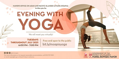Evening With Yoga tickets