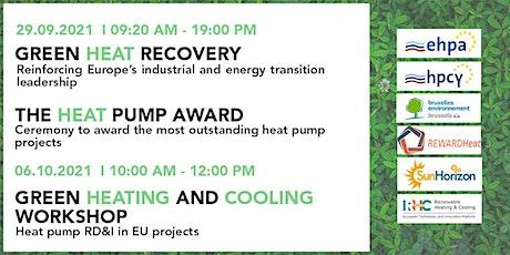 Heat Pump Forum and Award Ceremony / Green Heating & Cooling workshop billets