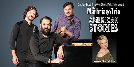 American Stories - The Marbriago Trio in Dallas at Chocolate Secrets tickets