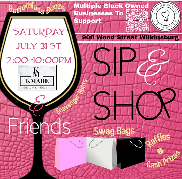 Sip & Shop With KMADE & Friends image