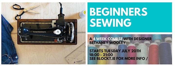 4-Week Beginners Sewing Class image
