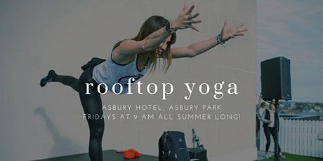 Yoga on the Rooftop at the Asbury Hotel! tickets