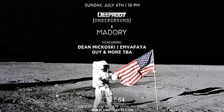 Deep Root Underground x Madory July 4th at Space 54 tickets
