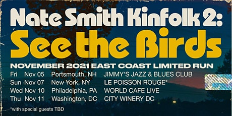 Nate Smith + KINFOLK tickets