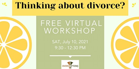 LEARN YOUR DIVORCE OPTIONS | FREE tickets