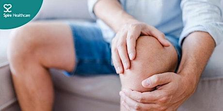 Free online event:  Arthritic knee health tickets