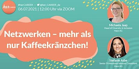 Online-Live-MeetUp: Netzwerken – mehr als nur Kaffeekränzchen! Tickets