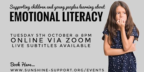 Supporting Children and Young Peoples Learning about Emotional Literacy tickets