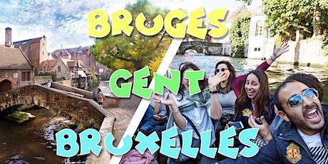 Le week-end du 24+25 juillet,  decouvrez les belles villes de la Belgique billets