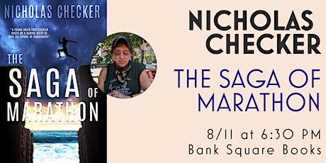Author Talk and Q&A with Nicholas Checker for THE SAGA OF MARATHON tickets