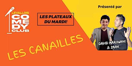 Comedy Club - Les Canailles - du Stand-up à l'état pur billets