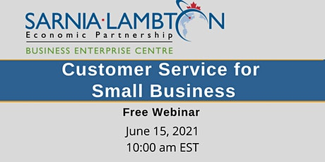 Customer Service for Small Business - On Demand Webinar tickets