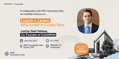 Lunch + Learn: Why Invest in Crypto Now tickets