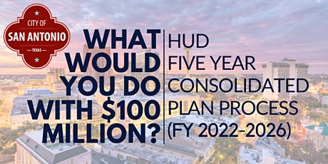 FY22-26 HUD CON PLAN PRIORITIES & FY22 ACTION PLAN COMMUNITY INPUT MEETING tickets