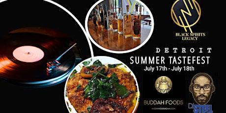 Detroit Summer Tastefest tickets