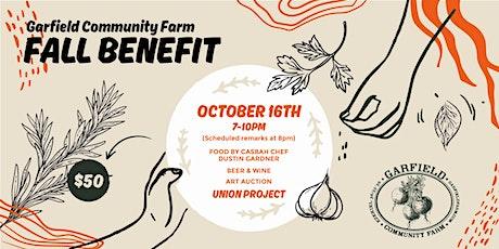 Garfield Community Farm Fall Benefit tickets