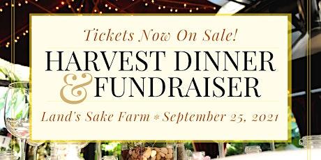 2021 Harvest Dinner and Fundraiser tickets