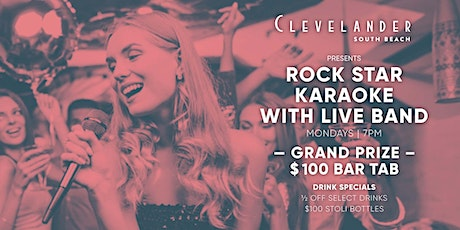 Rock Star Karaoke with Live Band tickets