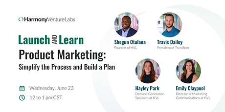 HVL's Launch & Learn Series: Product Marketing tickets
