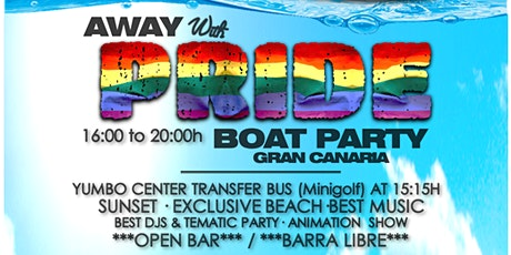 AWAY with PRIDE boat party tickets