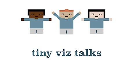 Tiny Viz Talks, August 2021 tickets