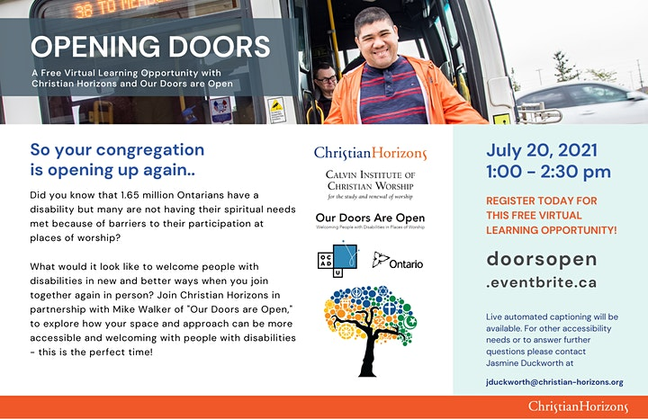 Opening Our Doors image