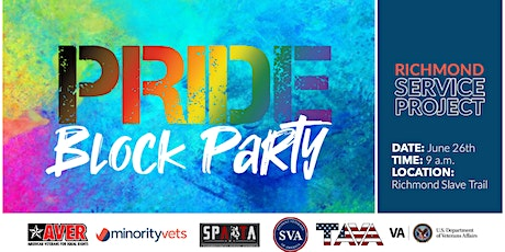Pride Block Party Richmond Chapter Slave Trail Cleanup tickets