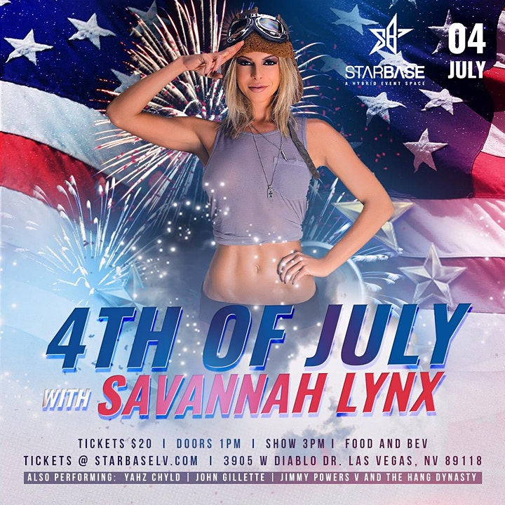 4th of July with Savannah Lynx image